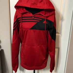 Worn once! ADIDAS Men's hoodie active sweater Sz M